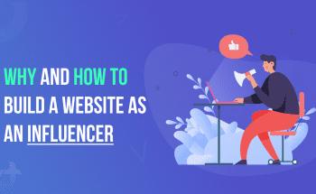 Build a Website as an Influencer