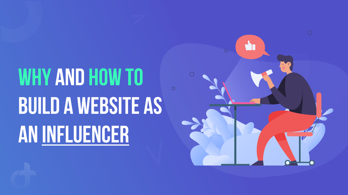 Build a Website as an Influencer