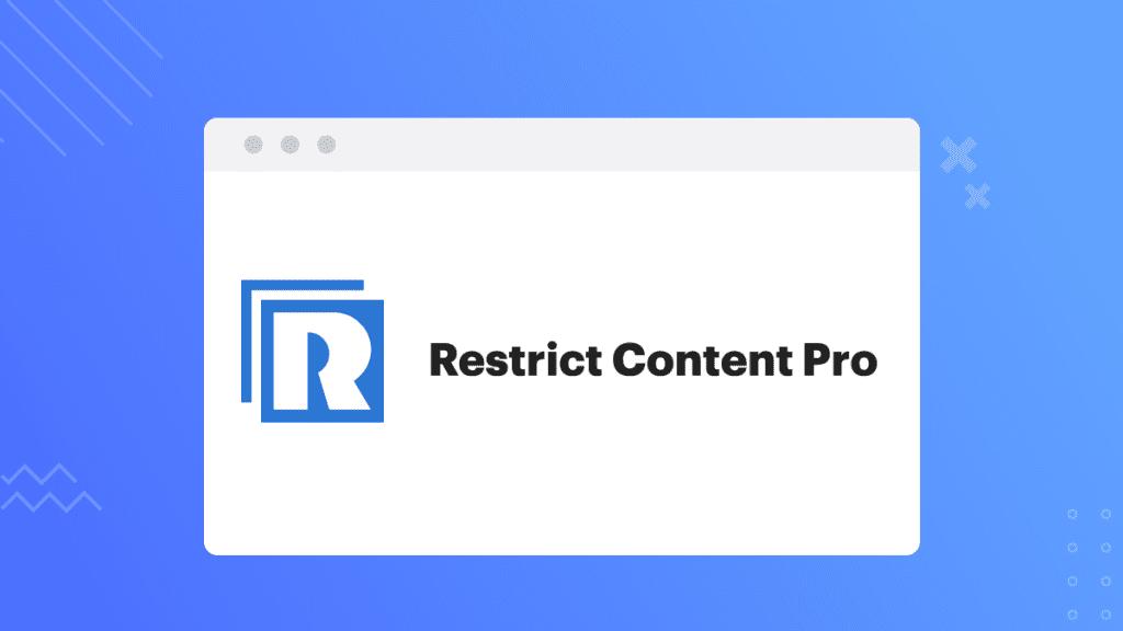 Restrict Content Pro Membership Plugins for WordPress