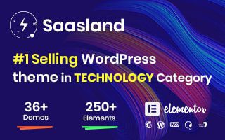 Saasland - #1 selling wordpress theme
