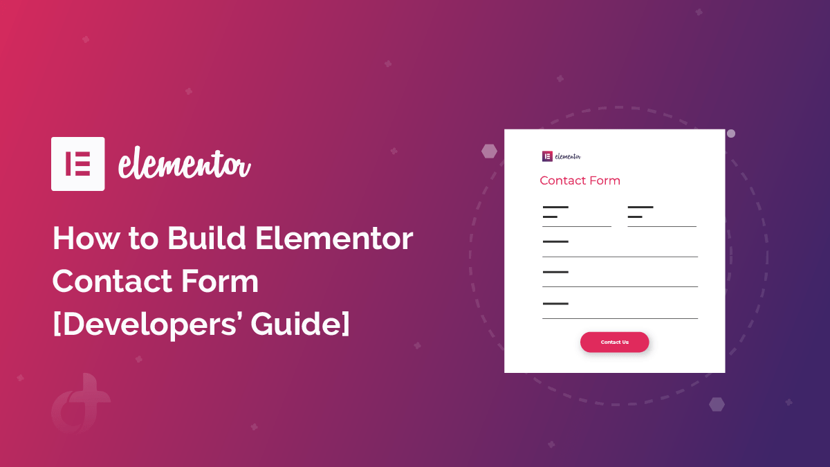 How to Build Elementor Contact Form