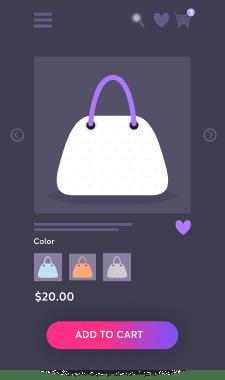 Ladies Bag Product Dark