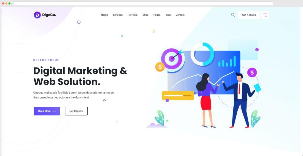 Digeco WordPress Theme