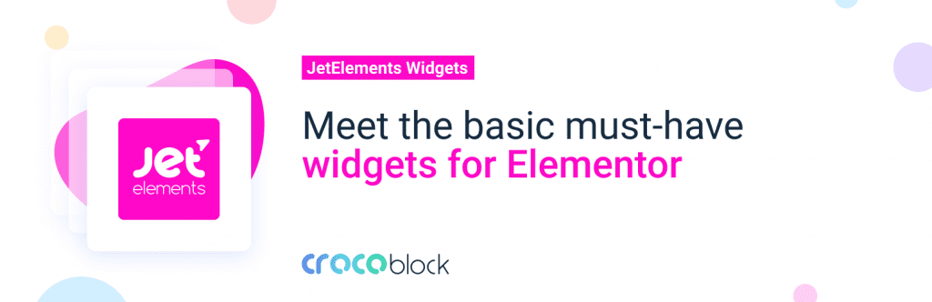 JetWidgets For Elementor