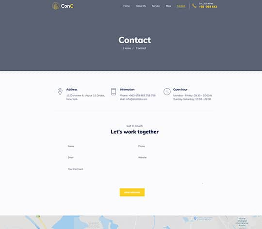ConC Html Template