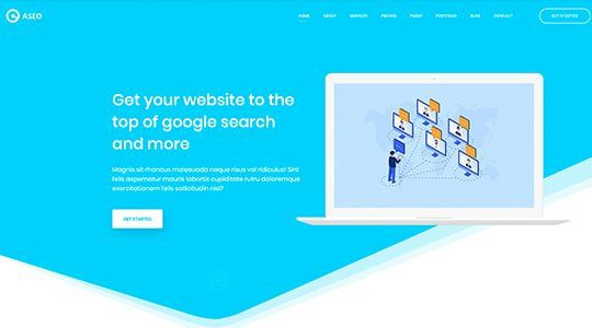 Aseo - Digital Marketing Theme
