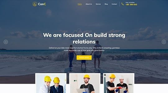 ConC WordPress Theme