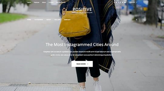 Possitive Html Template