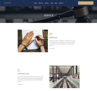 Service Page